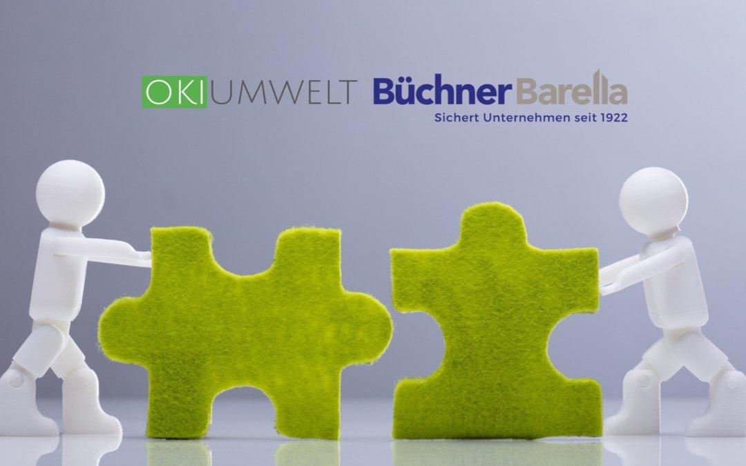 OKIUMWELT und Büchner Barella  Kooperation seit 2019!